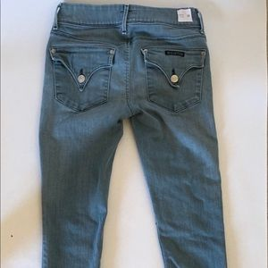 Size 25 Collin Flap Hudson Skinny Jeans